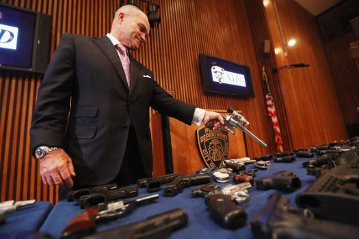"""NYPD Chief, """"The Problem Is The Handgun"""""""