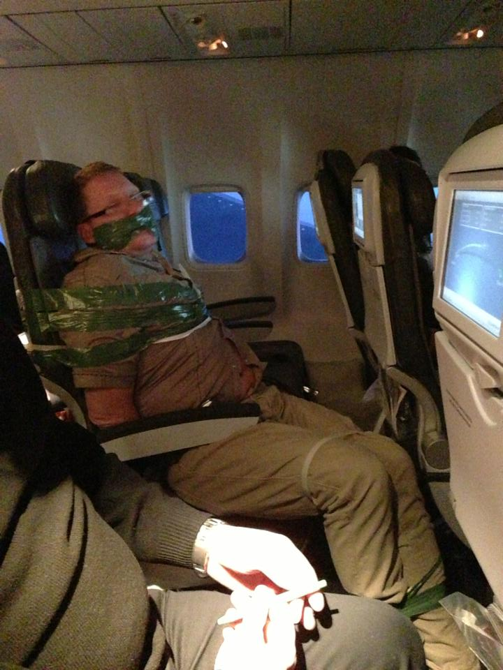 Gudmundur Karl Arthorsson Got So Drunk On A Flight To JFK Passengers And Crew Restrained Him With Duct Tape
