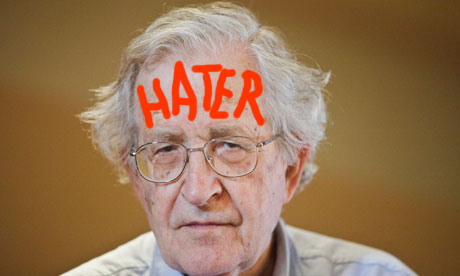 Noam Chomsky: Obama is Like an Old  'Moderate Republican'