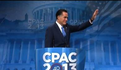 CPAC 2013: Mitt Romney Speaks