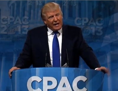 CPAC 2013: OK, Can We Just Be Done With Donald Trump Now?