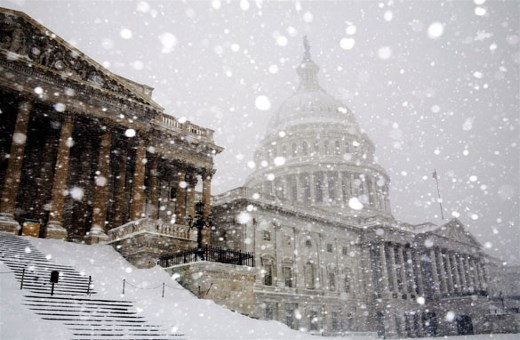 Global Warming Hearing Cancelled Because of Snow