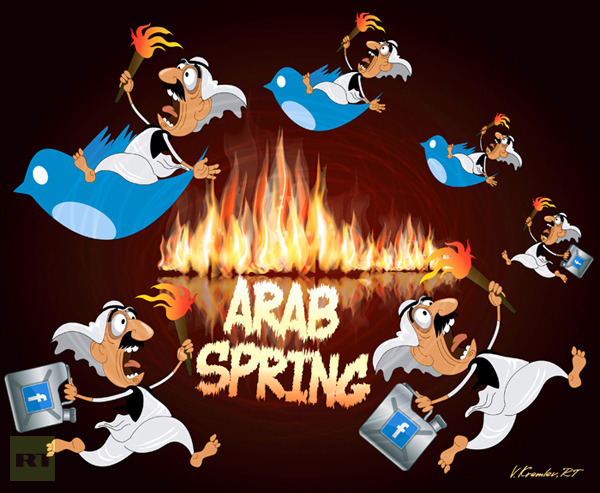 """How's that """"Arab Spring"""" workin' out for ya?"""
