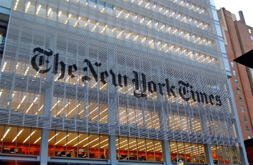 When you lose the New York Times . . .