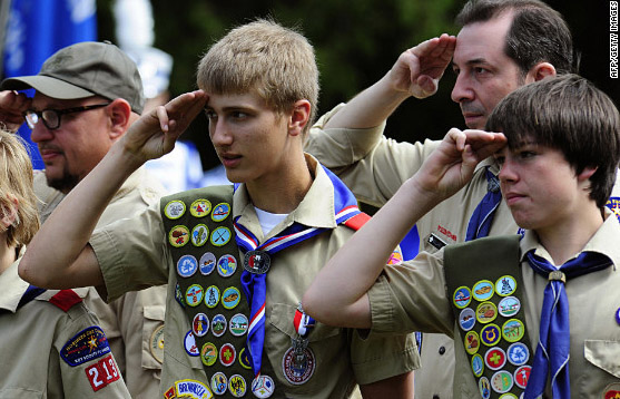 After 93 Years Church Throws Out Boy Scouts for Now Favoring Gays