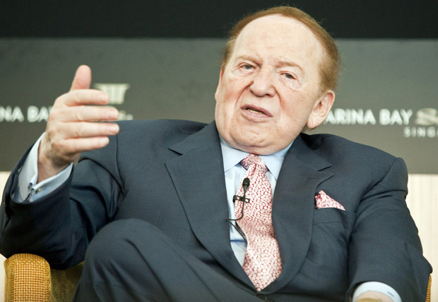 Sheldon Adelson: We Should Nuke Iran