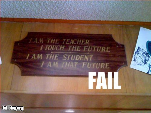 And teachers want respect…