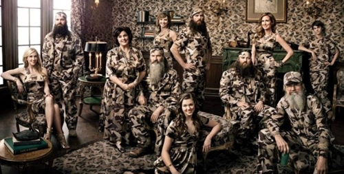 E! Network on Duck Dynasty