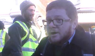 LIAR EXPOSED: Union Organizer Pretends to be Anti-Union Protester to Push Union Goals