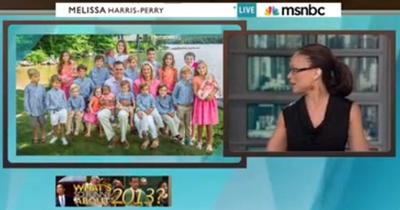 MSNBC Ridicules Mitt Romney for Having a Black Grandso