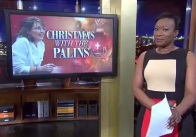 MSNBC: So Stupid That They Say Sarah Palin's Christmas Trees Are 'Un-Christian'