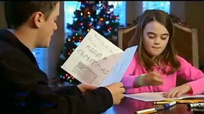 Obama's Veterans Administration Prevent School Kid's Christmas Cards to Troops