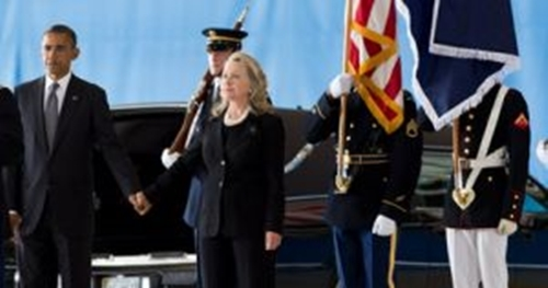 What was Obama doing when Benghazi was burning?