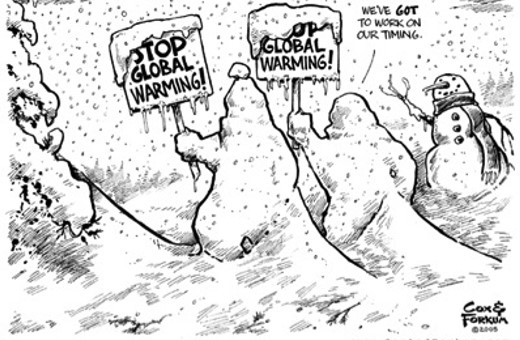 Global Warming Cancelled