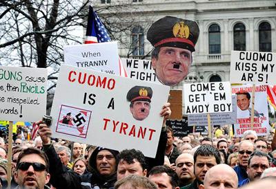 NY Firemen Tell Cuomo To Stop Using Them as Excuse for Gun Grabbing