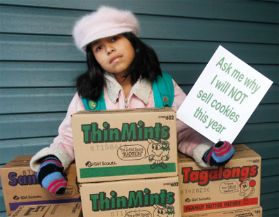Time to Stop Supporting the Girl Scouts