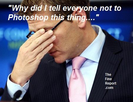 Hilarious Jay Carney Photoshop Fail
