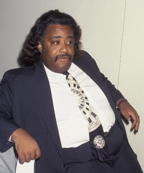 The Reverend Al Sharpton Almost Chokes On His Own BS