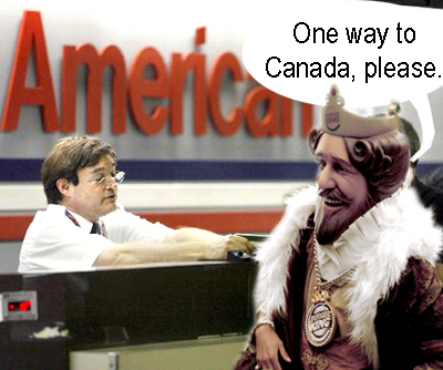 Moving to Canada? Good For Burger King