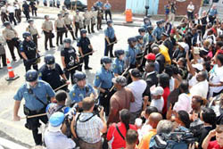 Despite Rabble-Rousers Urging Ferguson Citizens to Vote, Few Bothered