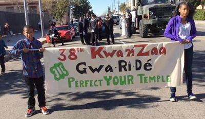 Media Bias: The Fake Kwanza Parade CBS Los Angeles 'Covered'