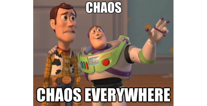 Chaos Time (and vice versa)