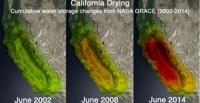 California Drying Up