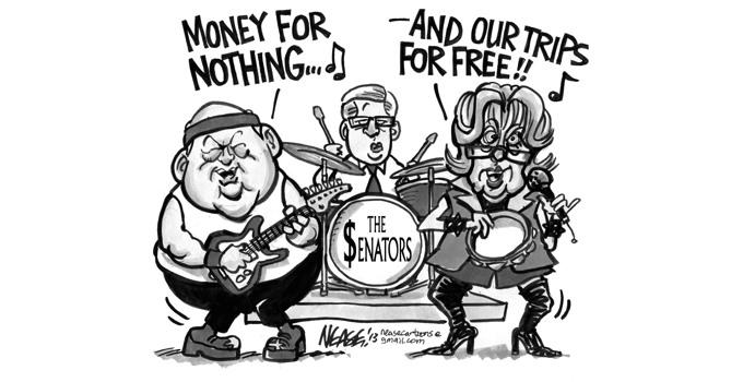 Poor Overworked Senators