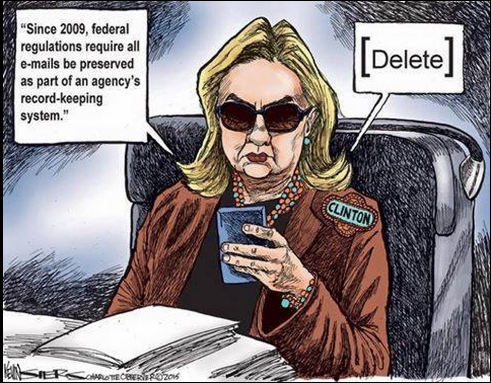 BREAKING – Obama Admin behind Hillary email server story