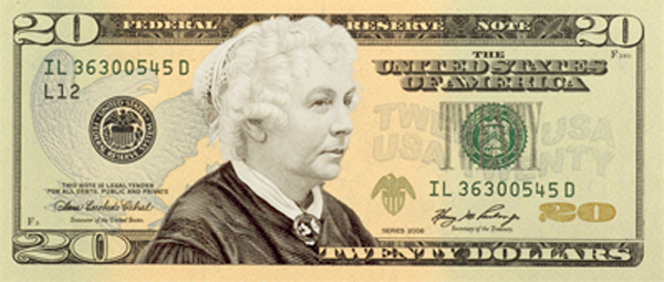 Candidates for Woman on the $20 Bill Features Man hater, Mass Murderer and Advocate for Genocide of Blacks