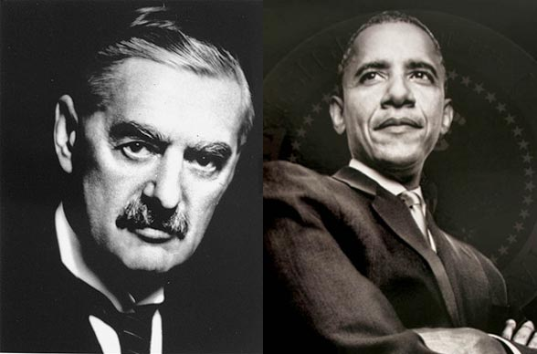 The Emptiness of Obama's Foreign Policy, He's WORSE Than Neville Chamberlain