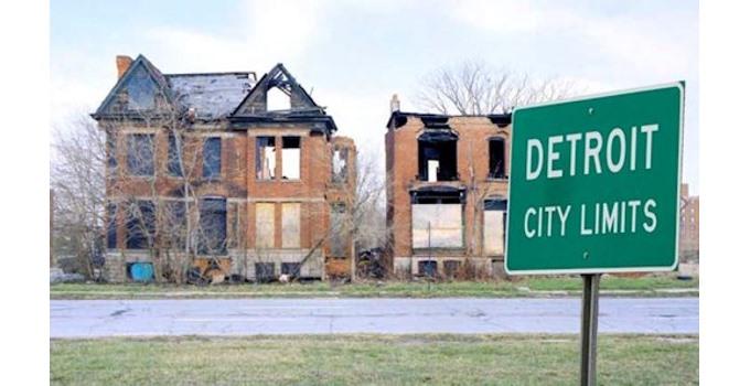 In the Democrat Utopia of Detroit . . .
