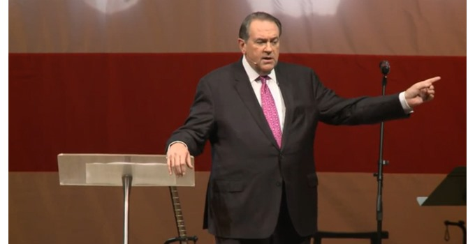 Did Mike Huckabee just go out on a limb?