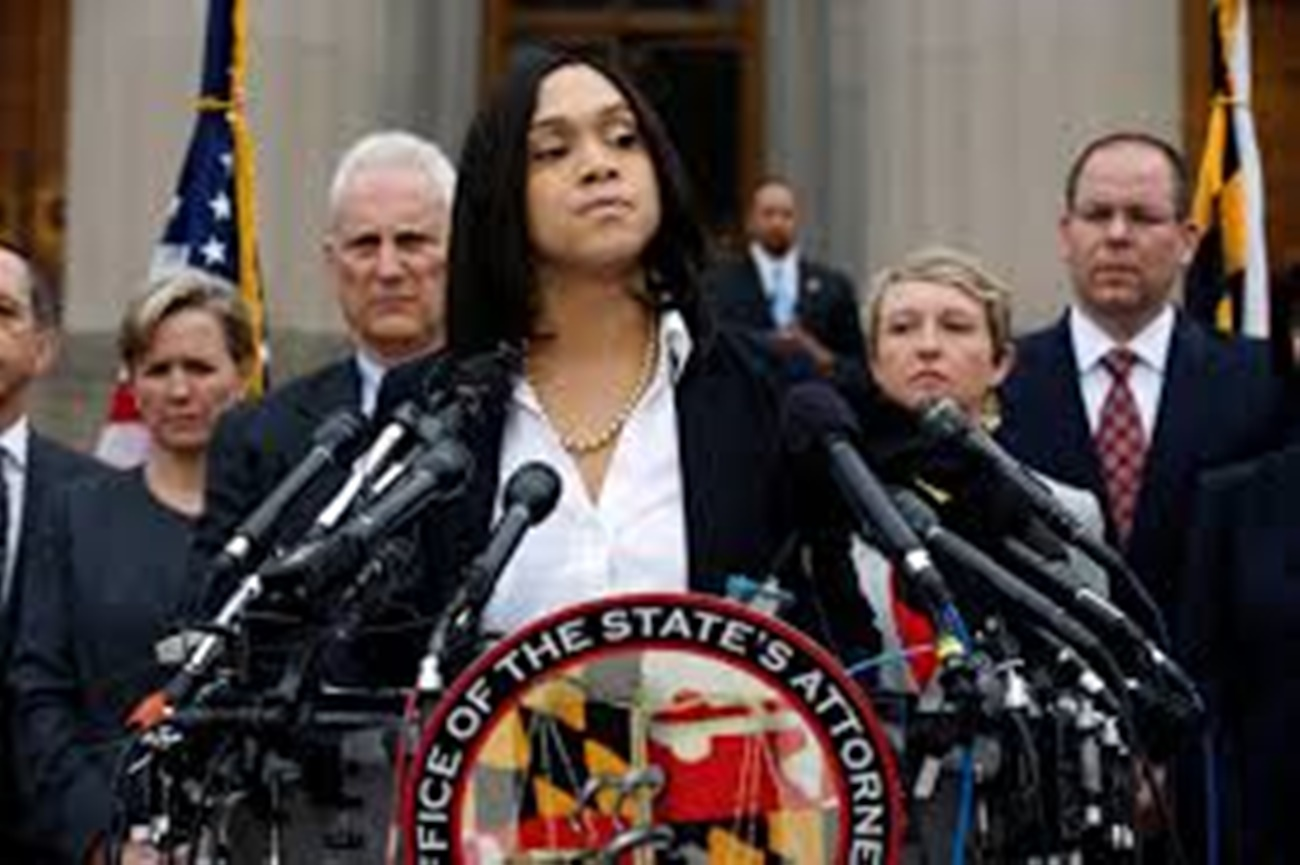 Marilyn Mosby: Incompetence on Parade in Baltimore