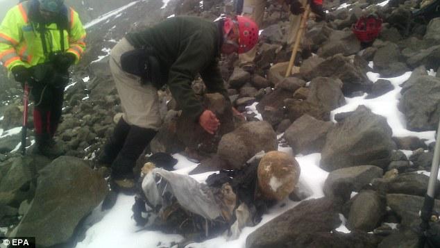 Frozen, Mummified Bodies Found in Mexico