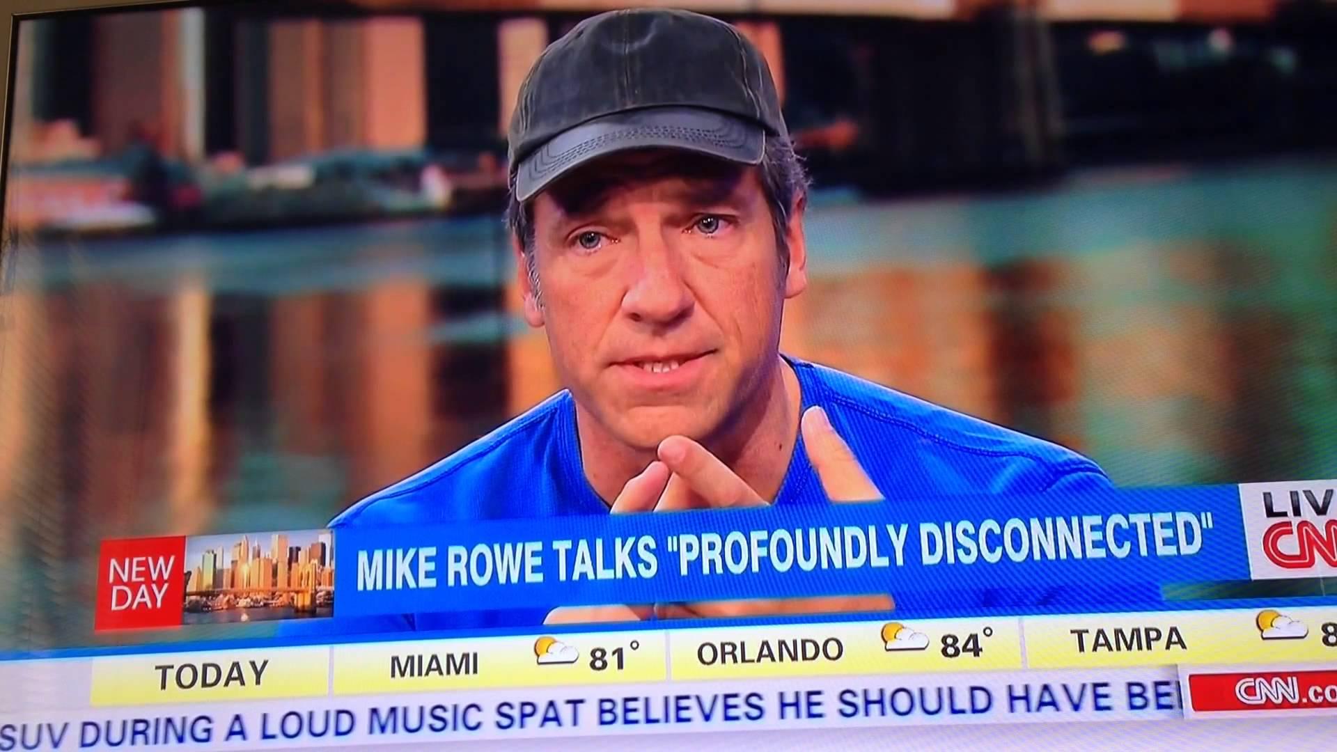 Mike Rowe Gently Smacks Down a Stupid Liberal