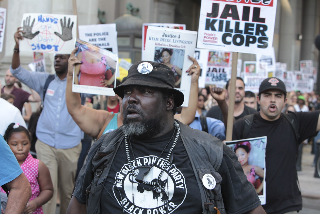 McKinney is Invaded by New Black Panthers and Nation of Islam to Prove That Black Lives Matter