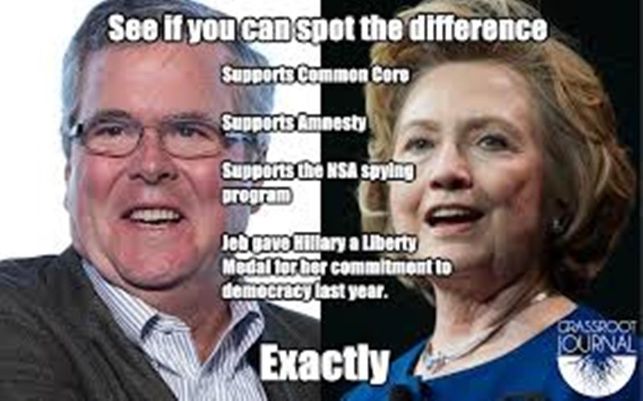Reminder: Jeb Bush Gave an Award to Hillary for Public Service