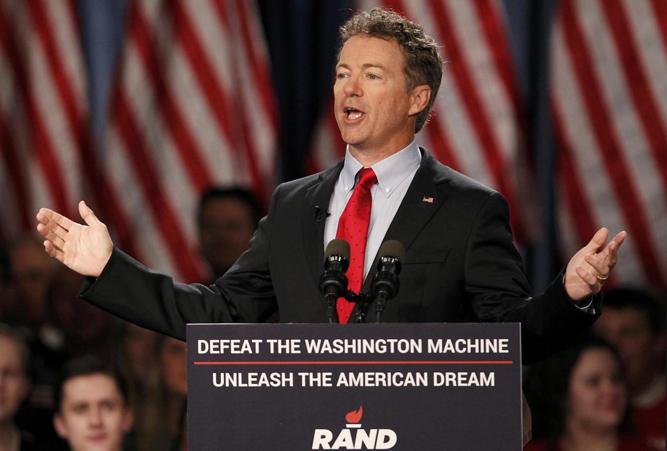 Rand Paul: I'm Proposing a 14.5% Flat Tax. No Loopholes.