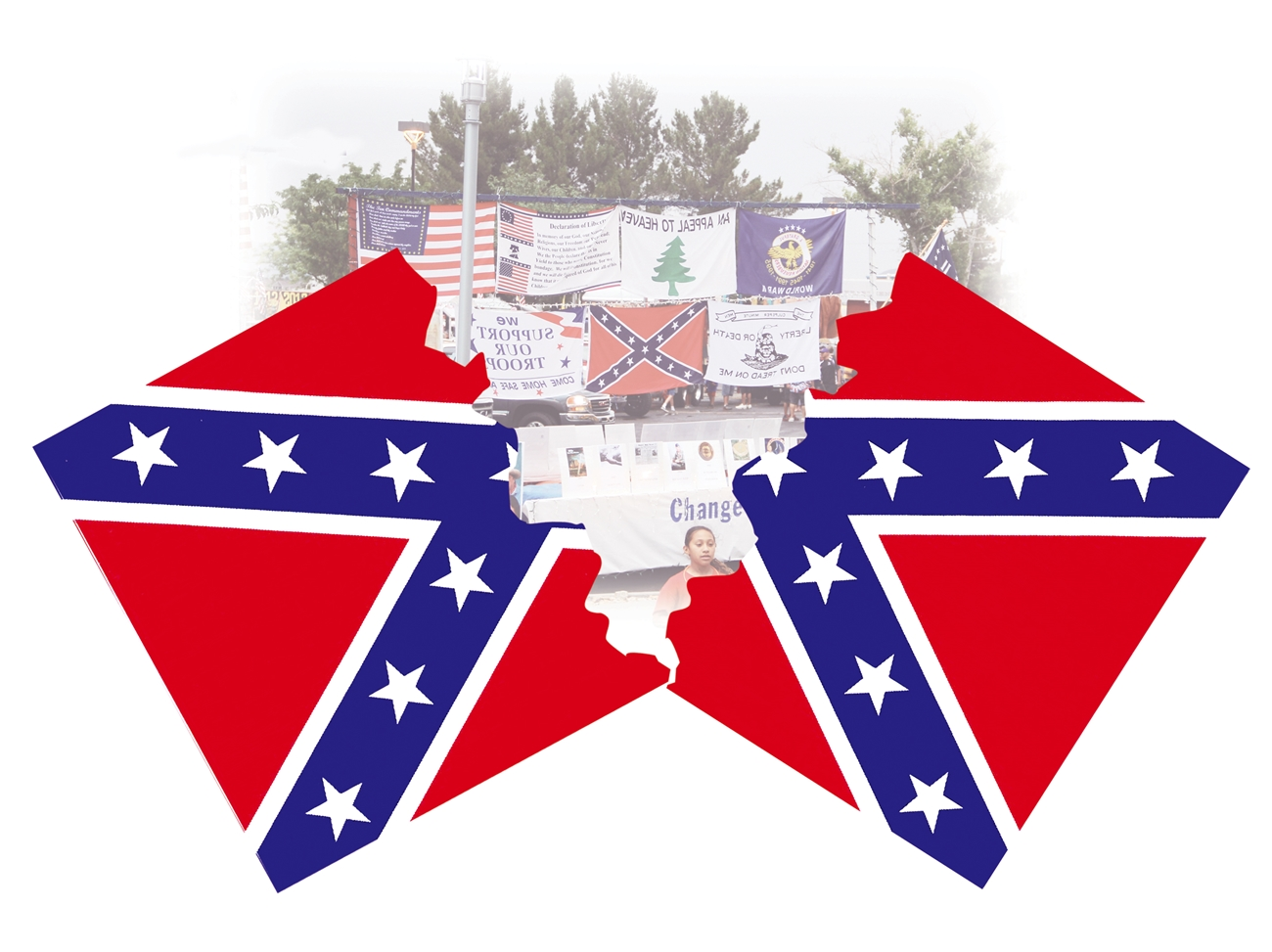 The Confederate Battle Flag MUST GO