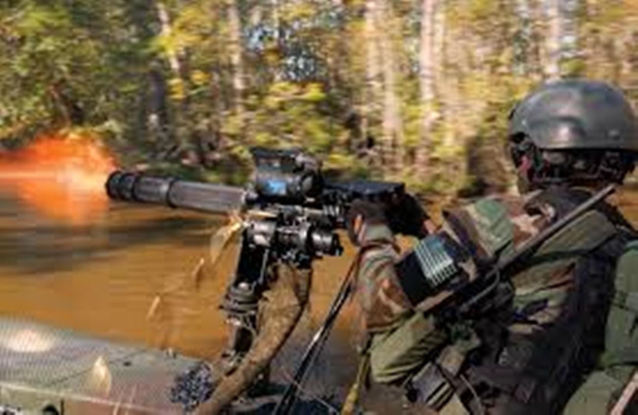 New Military 50 cal Gatling Gun is a 2000 Round Per Minute Terrorist Killer