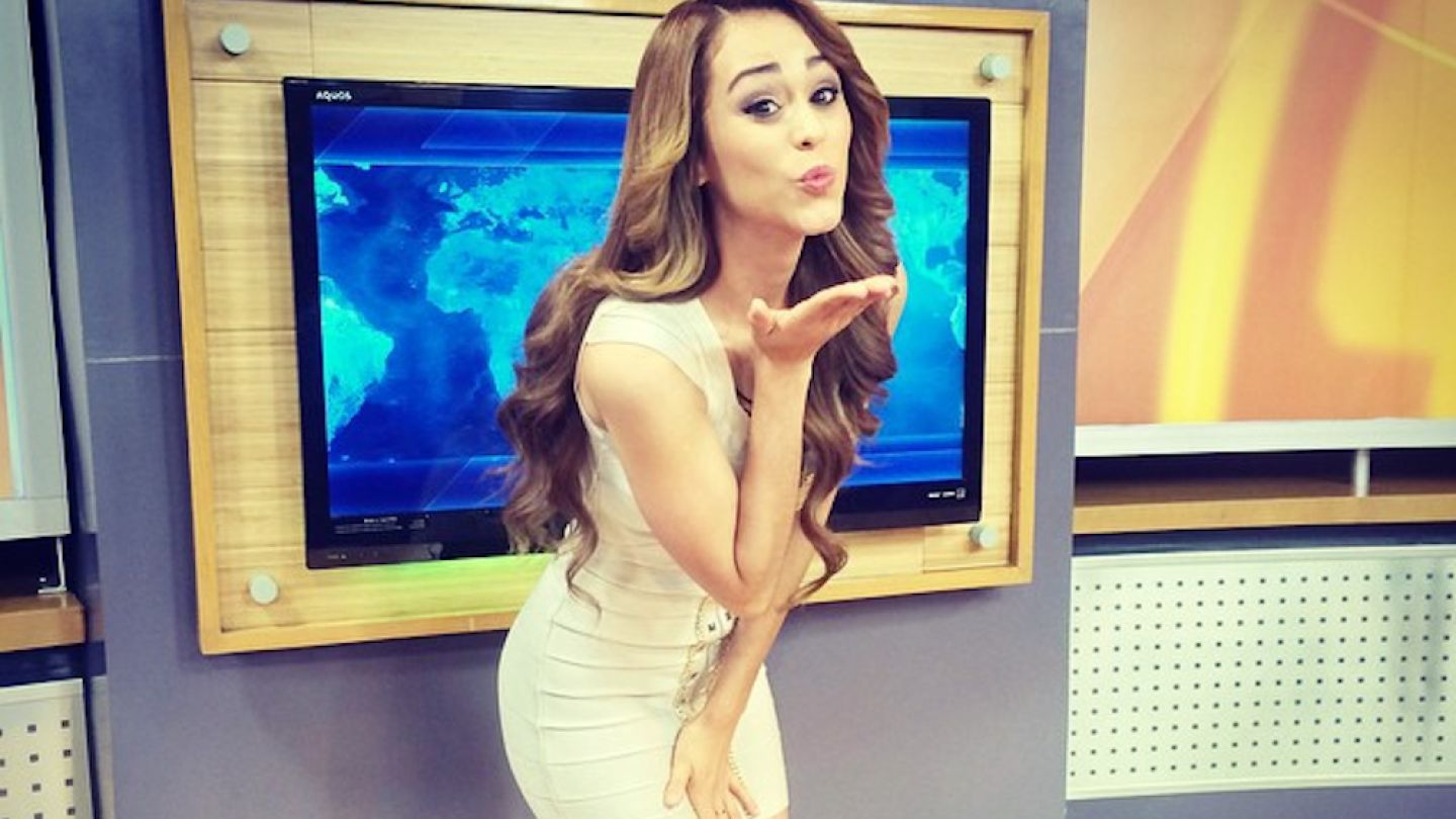 The Internet is Freaking Out About this Mexican Weatherwoman