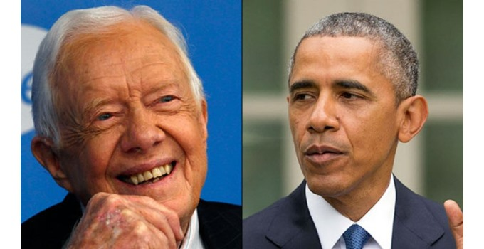Obama is so bad that even Jimmy Carter knows it.