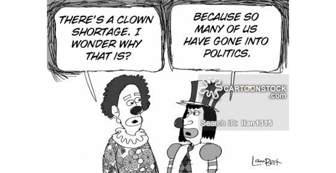 Clown Runs For Public Office (which really isn't anything new)