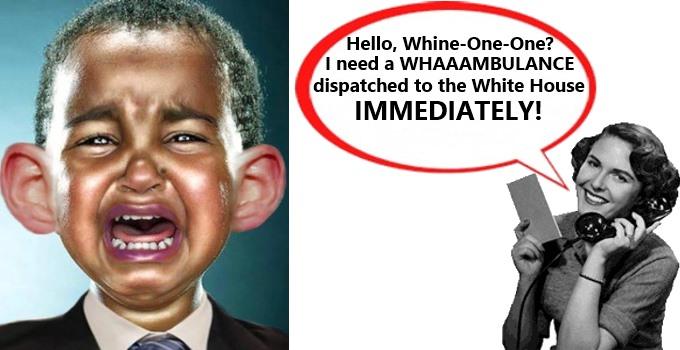 Obama Needs A Whaaambulance