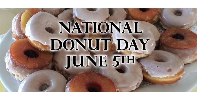 Happy National Donut Day 2015