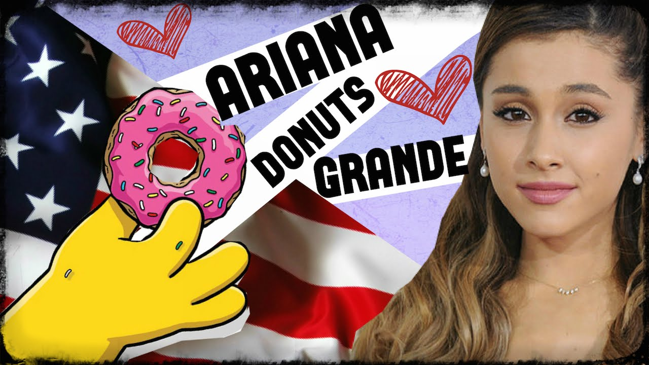 America-Hating ARIANA GRANDE LICKs & SPITS ON DOUGHNUTS In CA Store