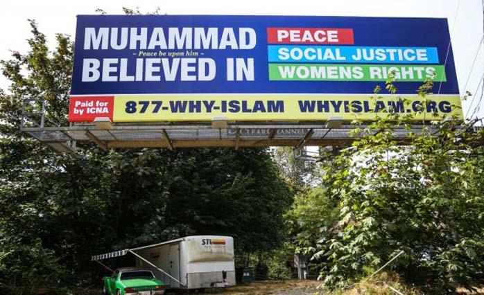 OPEN THREAD: Muslims Take Out Lie-Filled Billboards in Seattle