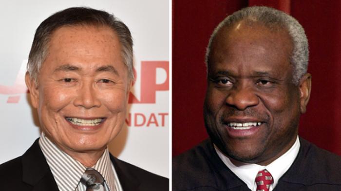 Racist Actor George 'Mr. Sulu' Takei Calls Black Man a 'Clown in Black Face'