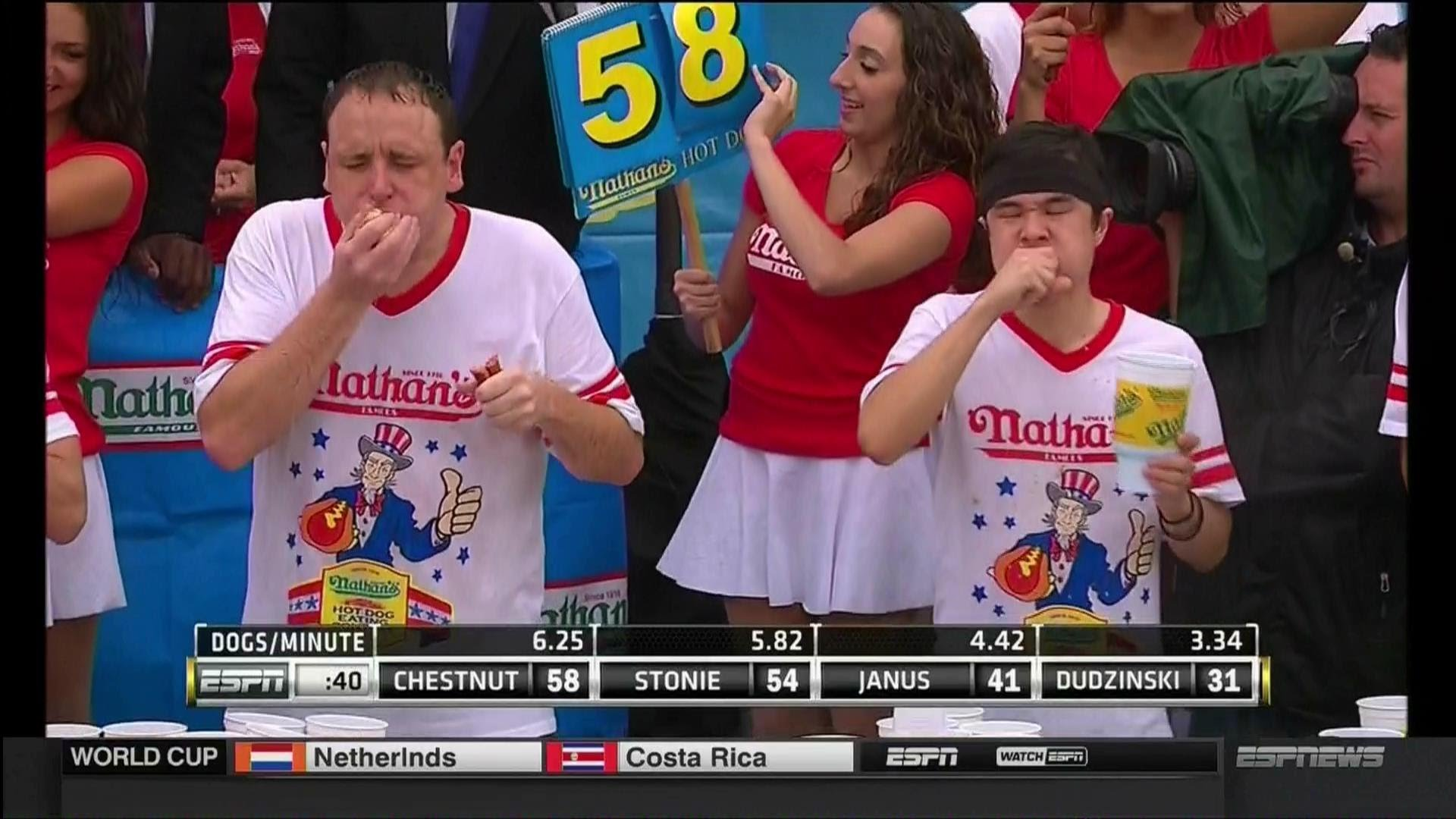 """Matt Stonie! """"An AMAZING Moment in Sports!"""" and on the 4th of July"""